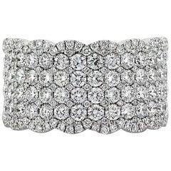 Mark Broumand 2.50 Carat Round Brilliant Cut Diamond Right-Hand Ring