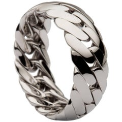 Monica Bonvicini Collection Single Chain Ring