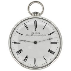 Corum Pocket Watch Silver Mechanical