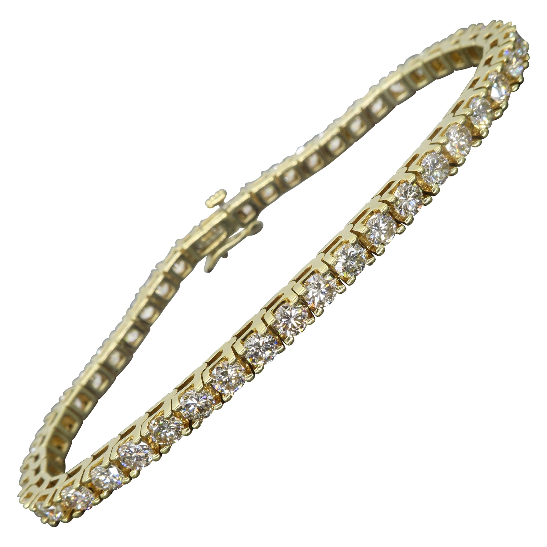6.00 Carat Diamond Tennis Bracelet
