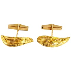 Kutchinsky London Gold Cufflinks