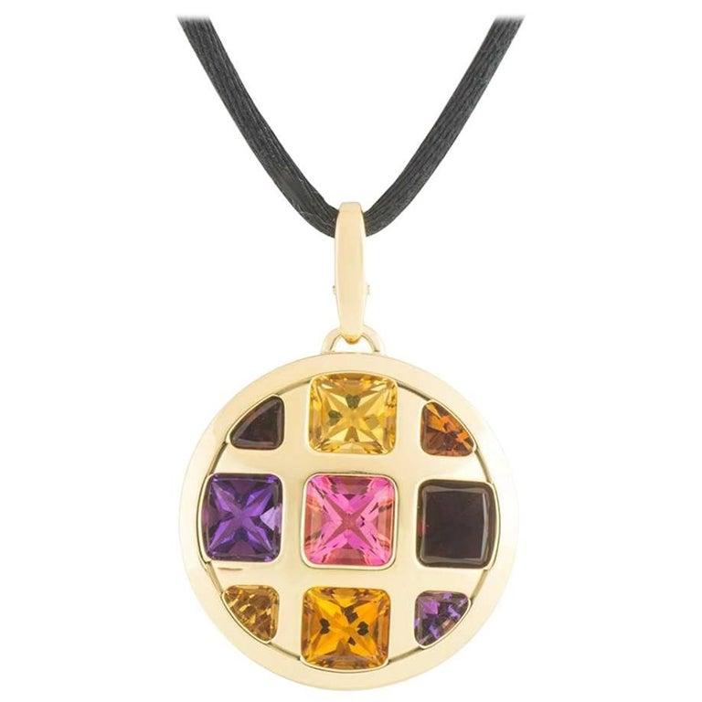 Cartier Multi-Gemstone Pasha Necklace