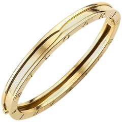 Bulgari Yellow Gold B.zero1 Bangle