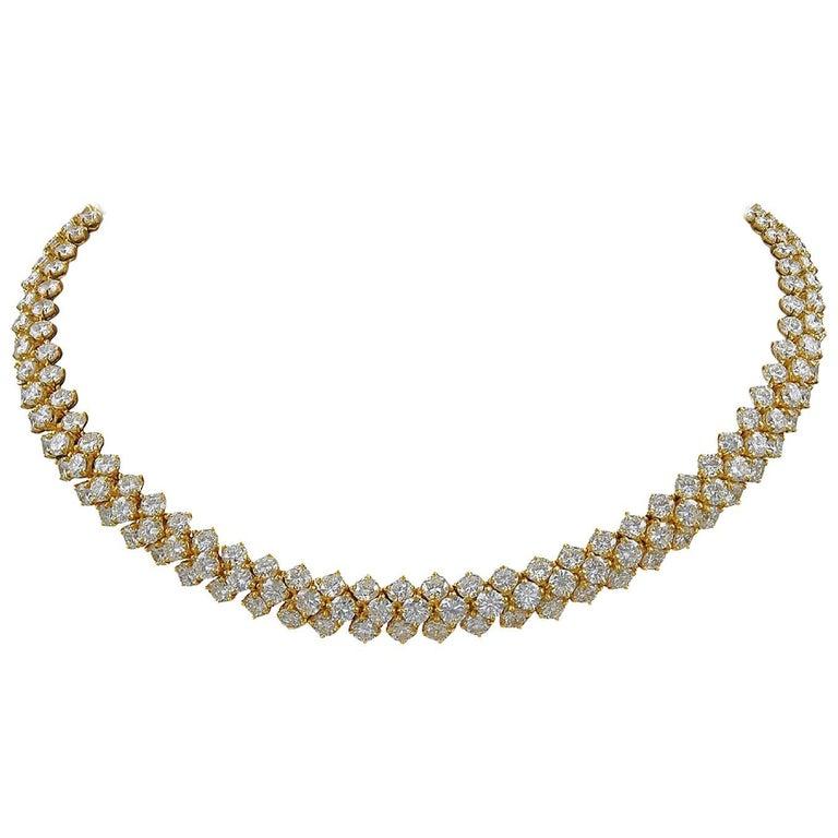Harry Winston Diamond Necklace 40.94 Carat