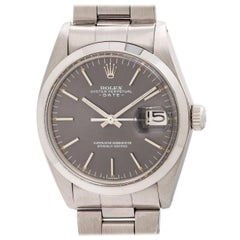 Rolex Oyster Perpetual Date Ref 1500 Gray Dial, circa 1970