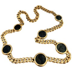 1960 Magnificent Bulgari Necklace with Greek Coins