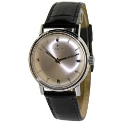 Zenith Stainless Steel Original Dial Manual Wind Watch, circa 1950s