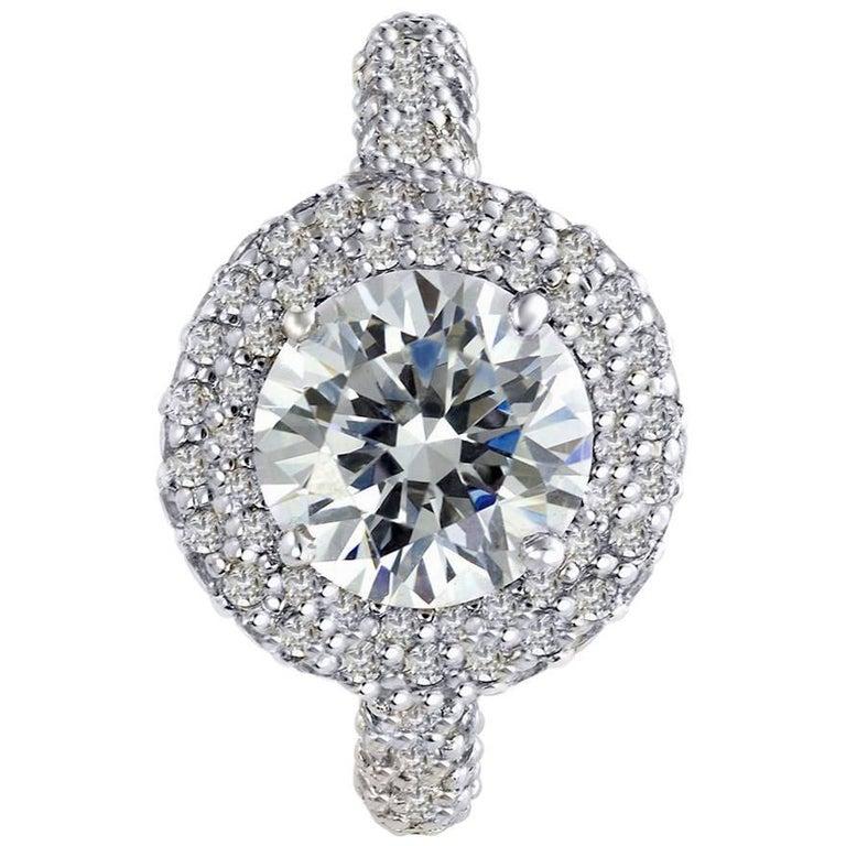 Alex Soldier Diamond Platinum Stardust Ring One of a Kind
