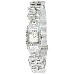 Omega Vintage Dress 650 Women's Quartz Diamond Watch in 18 Karat Gold