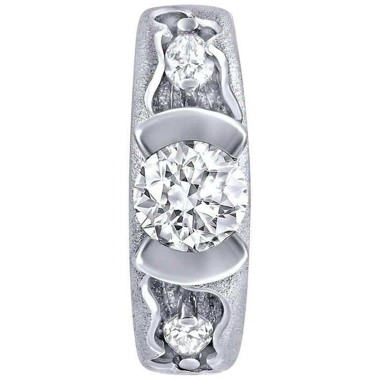 Alex Soldier Platinum Diamond Hidden Realms Ring One of a Kind