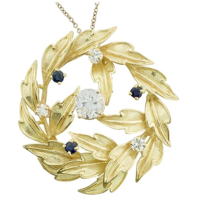 1940s Tiffany and Company Diamond Necklace