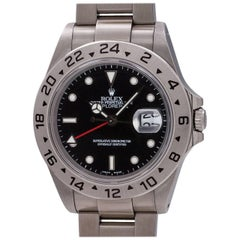 Rolex Stainless Steel Explorer II wristwatch Ref 16570, circa 1995