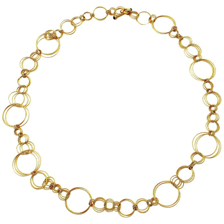 Roberto Coin Gold Link Necklace