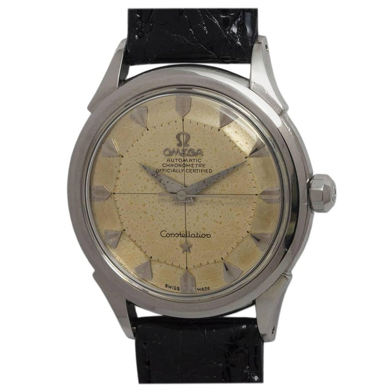 Omega Stainless steel Constellation self winding wristwatch Ref 2852, c1958