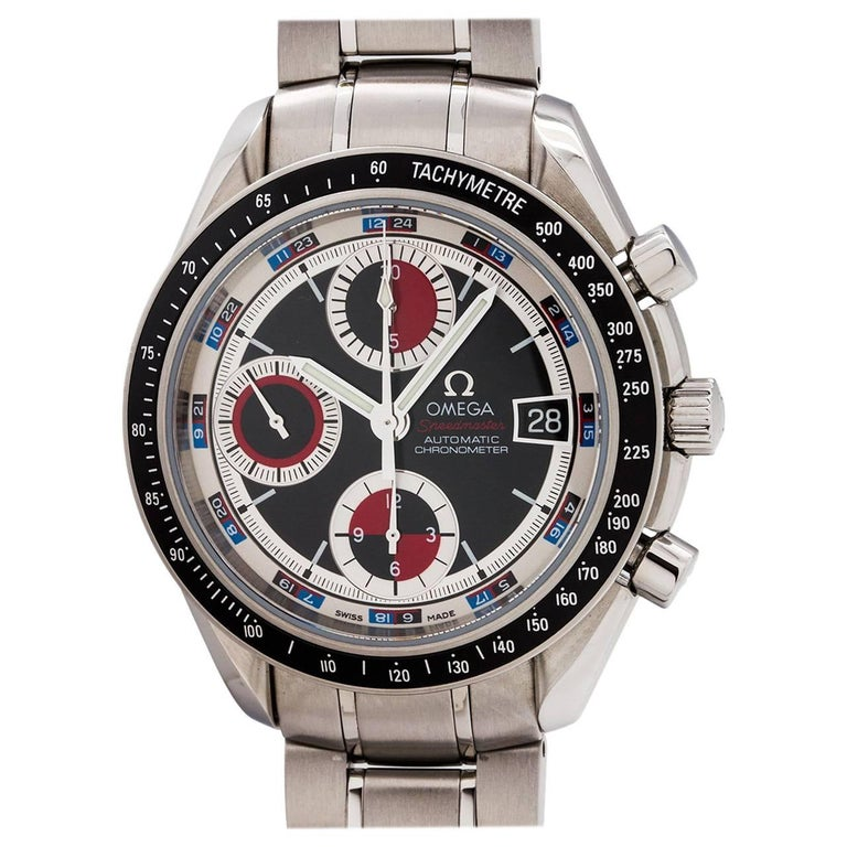 Omega Stainless Steel Speedmaster Automatic wristwatch, circa 2015