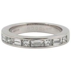 Boodles Diamond Half Eternity Ring in Platinum