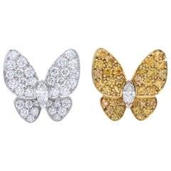 Van Cleef & Arpels Butterfly Earrings