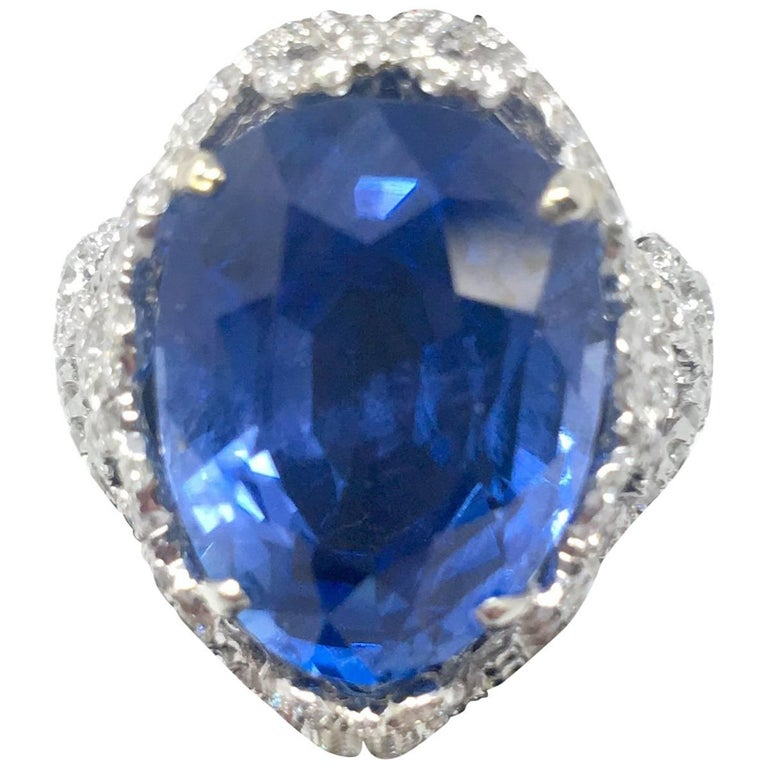 products diamonds platinum sapphire ring gia blue certified natural cornflower