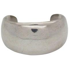 Mexican Artenecas Taxco Sterling Silver Cuff