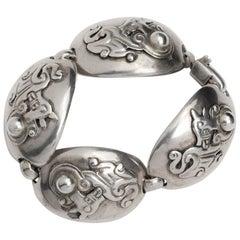 William Spratling Jaguar Bracelet