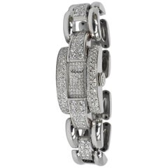 Chopard White Gold Diamond La Strada Quartz Wristwatch