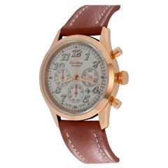 Breitling Rose Gold Navitimer Premier Chronograph Automatic Wristwatch