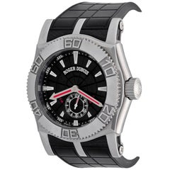 Roger Dubuis White Gold Easy Diver Automatic Wristwatch