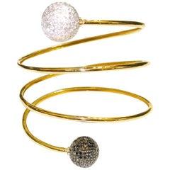 Spiral Ball Bracelet