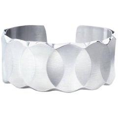 Meister Modernist Platinum Cuff