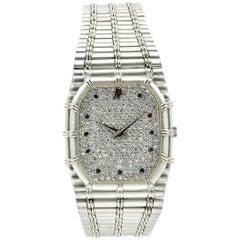 Audemars Piguet White Gold diamond quartz Wristwatch Ref C29634