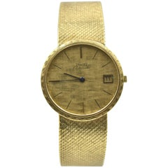 Piaget Yellow Gold Automatic Wristwatch Ref 0901