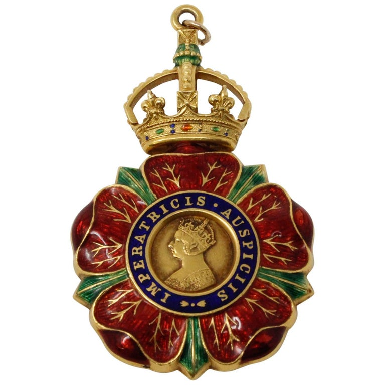 Badge of the Most Eminent Order of the Indian Empire