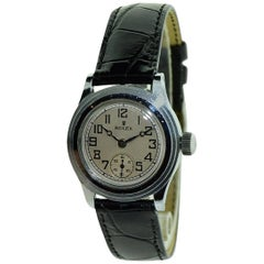 Rolex Chromium Marconi Hermetic Manual Wind Watch, circa 1930s
