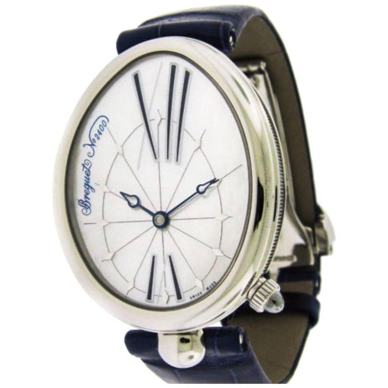 Breguet Stainless Steel Reine de Naples Self-Winding Wristwatch