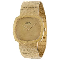 Piaget Dress 12421 A6 Vintage Unisex Watch in 18K Gold