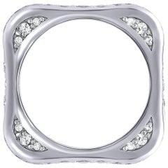 Diamond Platinum Band