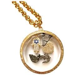 Clarissa Bronfman Gold and Diamond 'Love Shaker' Pendant