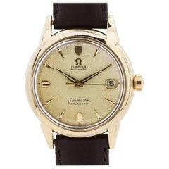 Omega Yellow Gold Filled Seamaster Automatic Wristwatch Ref 2846, circa 1956
