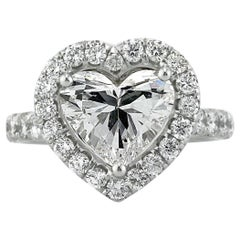 Mark Broumand 5.13 Carat Heart Shaped Diamond Engagement Ring