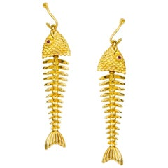 Tiffany & Co. Fish Scale Earpendants
