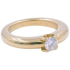 Cartier Diamond Engagement Ring 0.30ct Round Brilliant