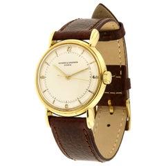 Vacheron Constantin Yellow Gold manual Wristwatch, 1940s