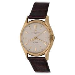 Vacheron Constantin Turler 18k Yellow Gold Automatic Wrist Watch Ref 4906