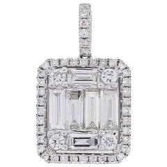 Diamond Mosaic Pendant