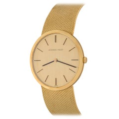 Audemars Piguet 18k Yellow Gold Midsize Manual Wind Wrist Watch