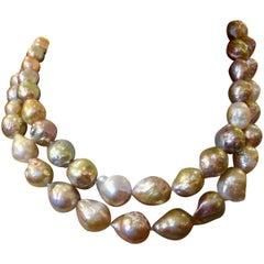 Michael Kneebone Multicolored Kasumi Pearl Necklace