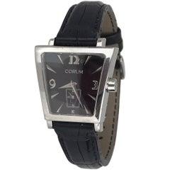 Corum Boutique Trapeze 105.404.20 Stainless Steel Black Ladies Watch