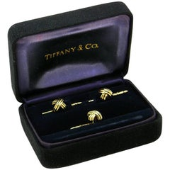 Tiffany & Co. 'Signature X' Shirt Studs