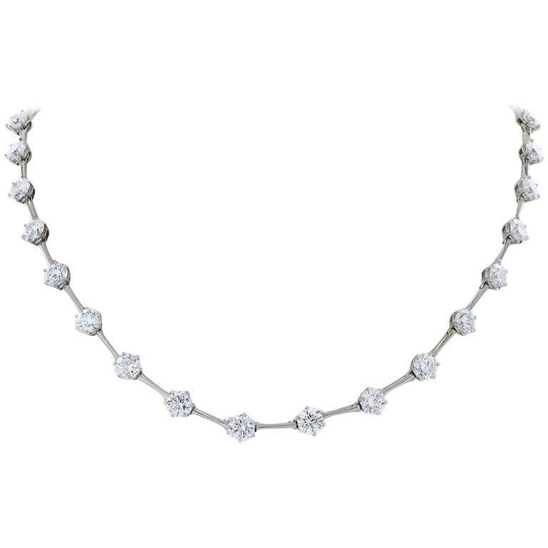 15.21 Carat Diamond Necklace