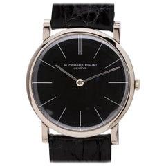 Audemars Piguet White Gold Dress Model Manual Wristwatch, circa 1960s